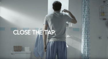 Colgate Super Bowl 50 Commercial Save Water