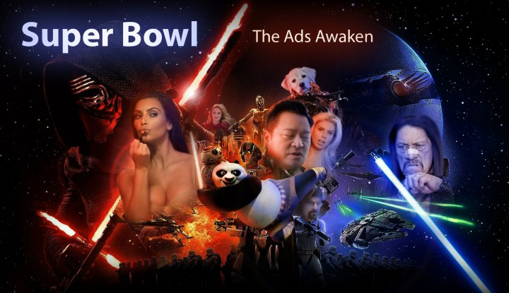 Star Wars Meet the Super Bowl