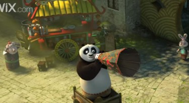 Wix and Kung Fu Panda 3 Teaser for their 2016 Super Bowl Commercial