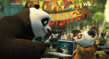 Wix.com and Kung Fu Panda 2016 Super Bowl Commercial