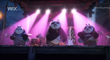 Wix and Kung Fu Panda 3 Super Bowl Commercial Teaser