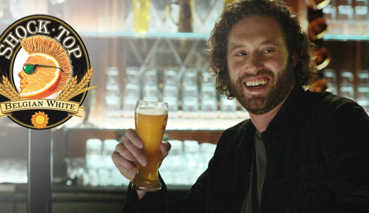 tj miller shock top super bowl commercial 2016