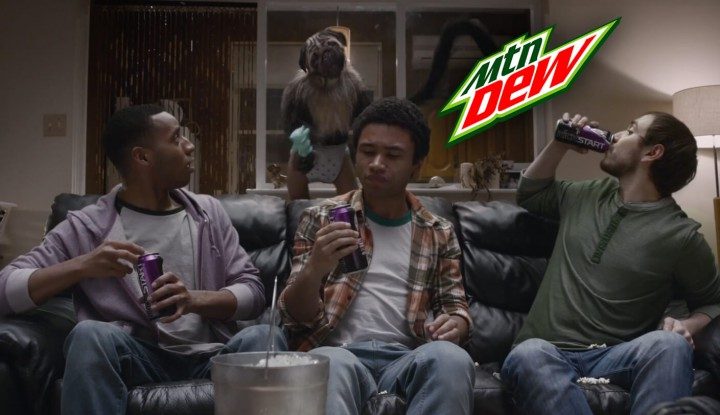 Mountain Dew 2016 Super Bowl Commercial