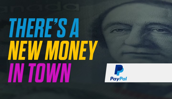 PayPal 2016 Super Bowl commercial New Money