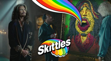 Skittles 2016 Super Bowl commercial