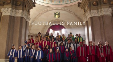 NFL Football Is Family Commercial - Football Babies