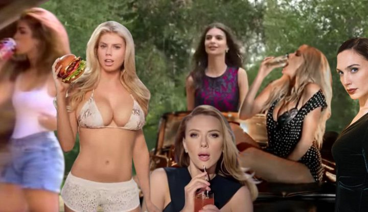 Hottest girls in super bowl commercials