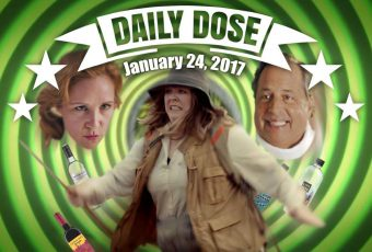 Super Bowl 2017 Commercial and Snickers Daily Dose 24 Jan