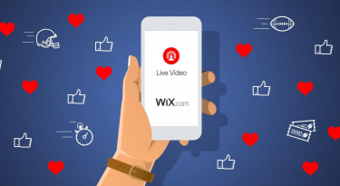 Wix Super Bowl Commercial Campaign Facebook Live (1)
