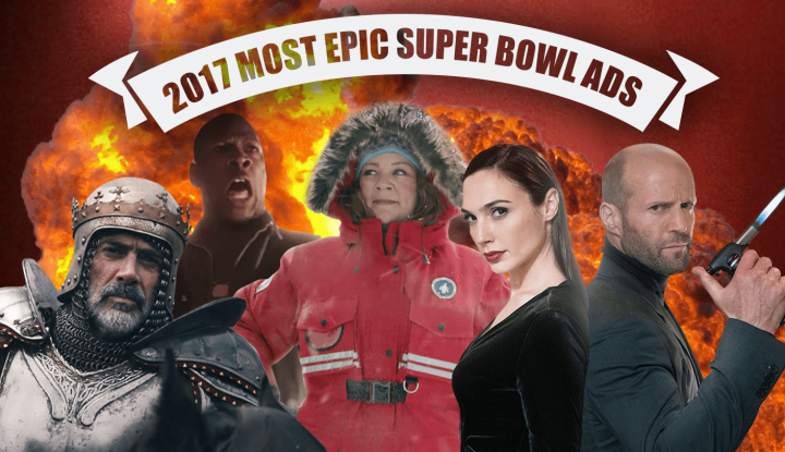 2017 most epic super bowl LI commercials