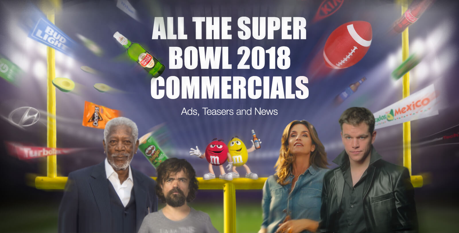 advertising in superbowl No one knows who will win super bowl lii on sunday, but the handful of travel  brands running ads during the game are betting millions of.